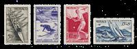 Monaco - YT A32/35 - Neuf avec charnières