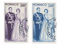 Monaco - YT A71/72 - Oblitéré
