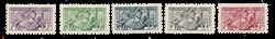 Monaco - YT 371/75 - Neuf avec charnières