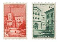 Monaco - YT 397/98 - Neuf avec charnières