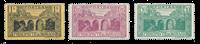 Monaco - YT 95/97 - Neuf avec charnières