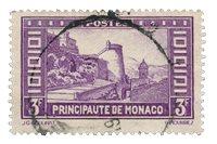 Monaco 1933-37 - YT 130 - Stemplet