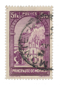 Monaco - 1933/1937 - Yvert 132, oblitéré