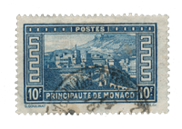 Monaco - YT 133 - Stemplet
