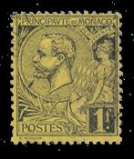 Monaco - YT 20 - Stemplet