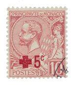 Monaco - 1914 - Yvert 26, oblitéré