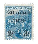 Monaco 1920 - YT 35 - Ubrugt