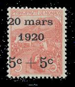 Monaco - YT 38 - Neuf avec charnières