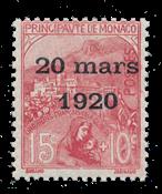 Monaco - YT 39 - Neuf avec charnières