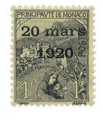 Monaco - YT 42 - Neuf avec charnières
