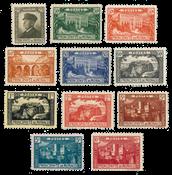 Monaco - 1922/1923 - Yvert 54/64, neuf avec charnière