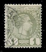 Monaco - YT 1 - Oblitéré