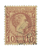 Monaco - YT 4 - Oblitéré