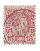 Monaco - YT 5 - Oblitéré