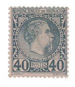 Monaco - YT 7 - Neuf avec charnières