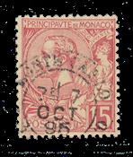 Monaco - YT 15 - Stemplet
