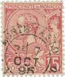 Monaco - YT 15 - Oblitéré