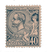 Monaco - 1891/1894 - Yvert 17, neuf avec charnière