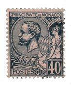 Monaco 1891-94 - YT 17 - Stemplet
