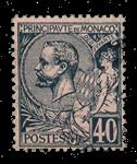 Monaco - 1891/1894 - Yvert 17, oblitéré