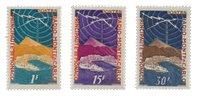 Monaco - 1951 - Yvert 376/378, neuf