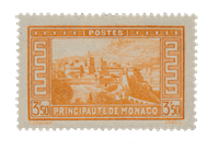 Monaco - 1933/1937 - Yvert 131, neuf avec charnière