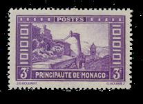 Monaco - 1933/1937 - Yvert 130, neuf avec charnière