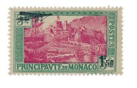 Monaco 1933 - YT A1 - Ubrugt