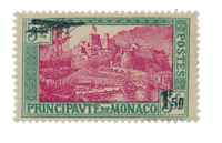 Monaco - 1933 - Yvert A1, neuf avec charnière