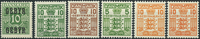 Denmark - Tax stamps - 1923-34