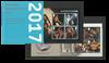Grande-Bretagne - Collection annuelle de blocs-feuillets 2017 - Coll.Annuelle