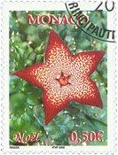Monaco - Noël 2002 - Timbre oblitéré