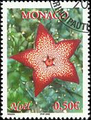 Monaco - Noël 2002 - Oblitéré