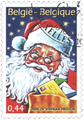 Belgium - Christmas/New Year 2005 - Cancelled