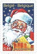 Belgique - Noël 2005, Père Noël - Timbre neuf