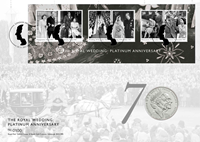 Great Britain - Platinum Anniversary - PNC / Coin Cover
