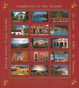 Islas Vírgenes de Estados Unidos 1991 - Pliego Navidad