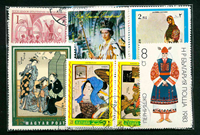 Folklore - 100 different stamps