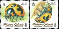 Pitcairn Islands - Ladybirds - Mint set 2v