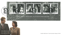Great Britain - Platinum Anniversary - First Day Cover