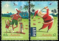 Îles Christmas - Noël 2017 - Série neuve 2v