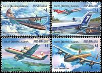 Îles Cocos Keeling - Aviation - Série neuve 4v