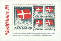Danmark 1985 Nordfrimex/1945 julemærkeblokng