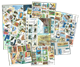 Former Soviet Republics - 263 different stamps and  31 souvenir sheets
