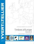 Yvert & Tellier stamp catalogue - Europa S-Y - Vol. 5 2017