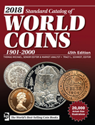 Krause Coin catalogue 2018, 1901-2000, 45th edition