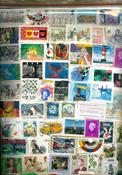 Divers pays - 500 gr. de timbres au kilo