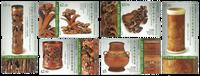 Hong Kong - Bambus skærearbejde - Postfrisk sæt 6v