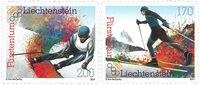 Liechtenstein - Vinter OL - Postfrisk sæt 2v