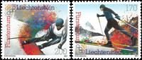 Liechtenstein - Winter Olympics 2018 - Mint set 2v